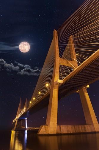 Full Moon von Lusitano Photographie