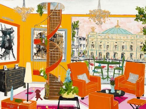 Salon face e leOpera de Paris von BORDERIE
