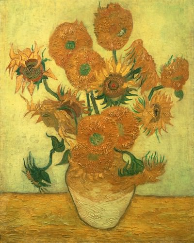 Vierzehn Sonnenblumen 1889 von Vincent van Gogh
