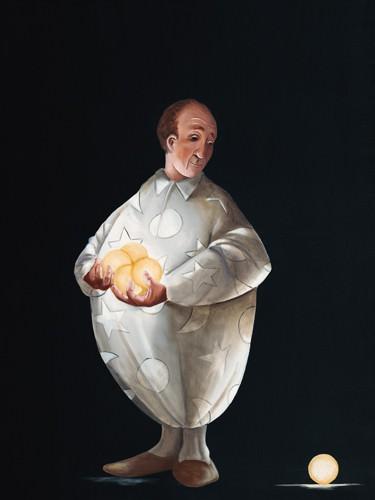 Le jongleur III von Pierre Rouillon