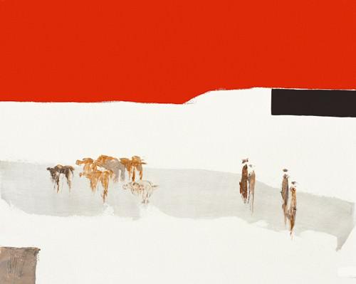 La route du desert III von Christian Choisy