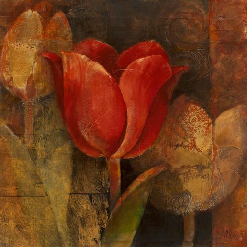Tulip Reflection von Albena Hristova