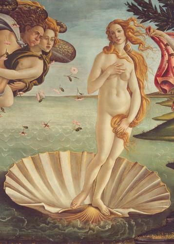 Geburt der Venus (Detail) von Sandro Botticelli