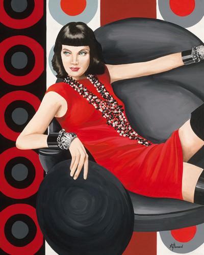 Femme 7 von Anne Bernard