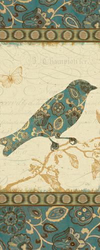 Natures Pattern I in Blue von Alain Pelletier