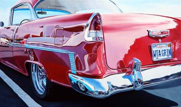 Chevy on Chevy Reflections von Michael Schuh