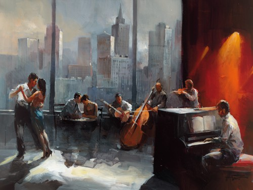 Room with a View I von Willem Haenraets