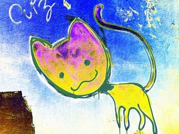 Katze 3 von Gerd Weissing