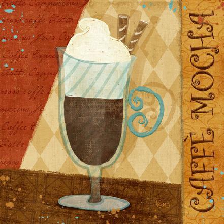 Jazzy Coffee II von Veronique Charron