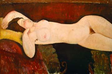 Akt einer schlafenden Frau von Amadeo Modigliani