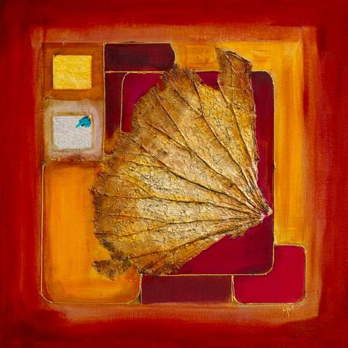 Le lotus d`or I von Lyne Perinciolo Duluc