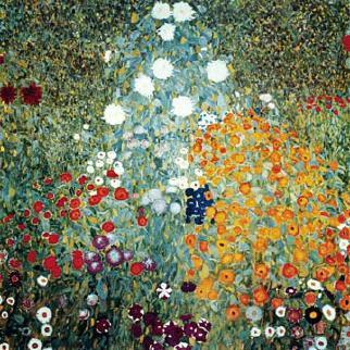 Bauerngarten von Gustav Klimt