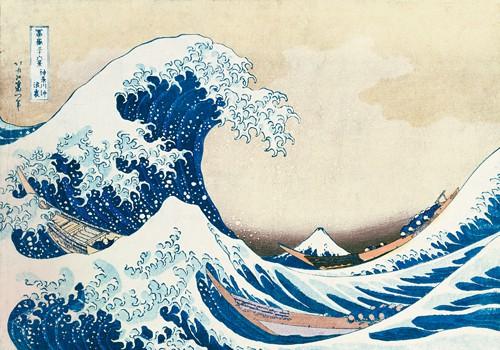 Die große Welle von Kanagawa von Katsushika Hokusai