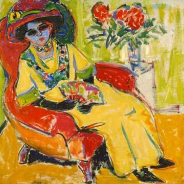 Bildnis Dodo von Ernst Ludwig Kirchner