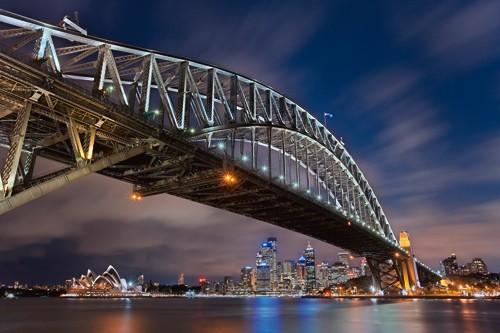 Sydney Harbour Bridge von Lothar Ernemann