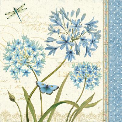 Blue Melody IV von Daphne Brissonnet