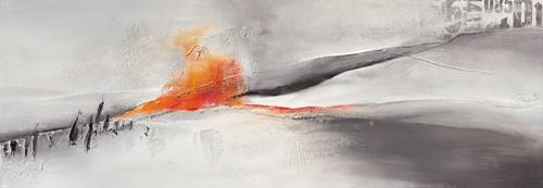 Abstrakte Landschaft I von Rita Marks
