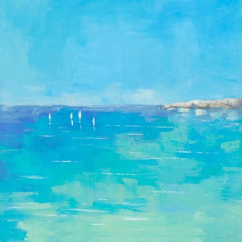 Mediterranee II von Regine Pivier-Attolini