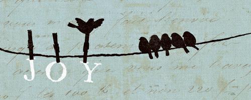 Birds on a Wire - Joy von Alain Pelletier
