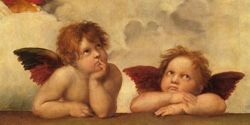 Zwei Engel von Raffael