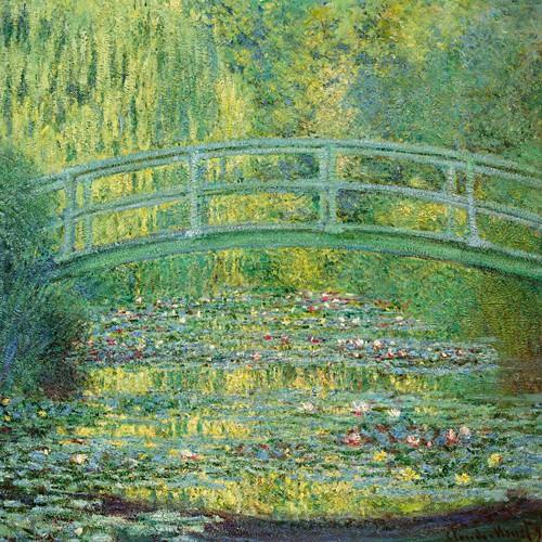 Seerosenteich und japanische Brecke von Claude Monet