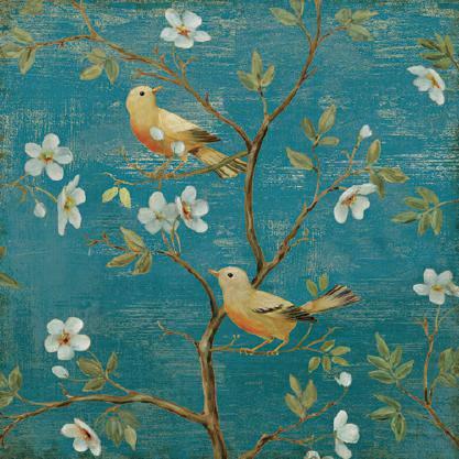 Blossom Blues von Daphne Brissonnet