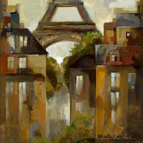Paris - Late Summer I von Silvia Vassileva