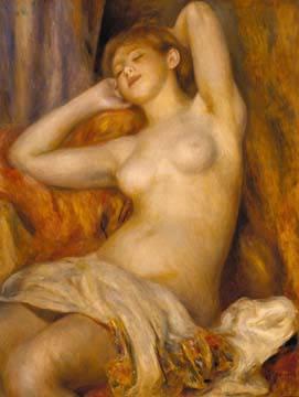 Die Schlafende von Auguste Renoir