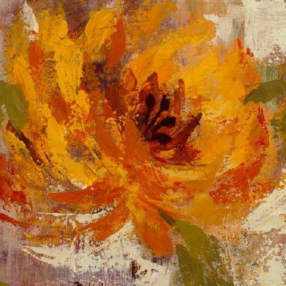 Fiery Dahlias I von Silvia Vassileva