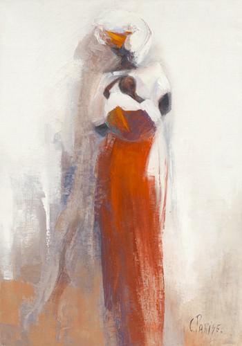 Silhouettes Africaines V von Chantal Parise
