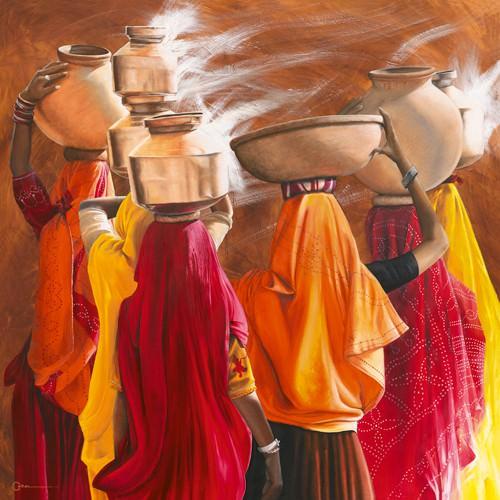 Saris von Cedric Cazal