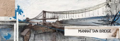 Manhattan Bridge von Caroline Laffargue