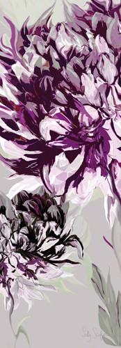 Purple Allure I von Sally Scaffardi
