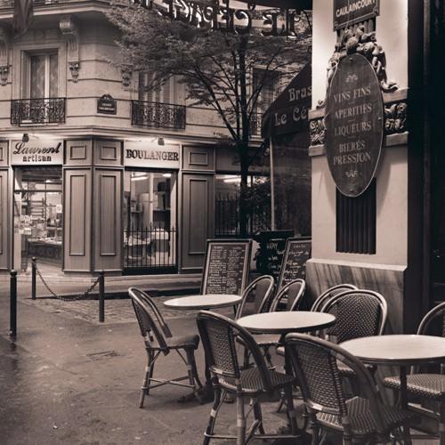 Cafe, Montmartre von Alan Blaustein