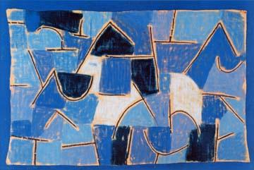 Blaue Nacht von Paul Klee