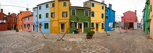 Venedig Burano II von Rolf Fischer