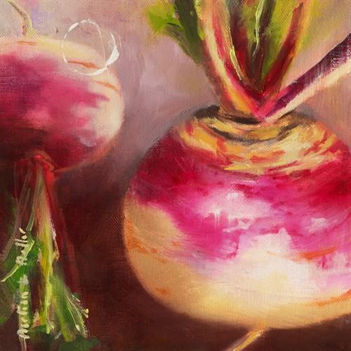 Navet rose I von Emmanuelle Mertian de Muller