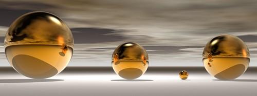 Golden Bowl I von Peter Hillert