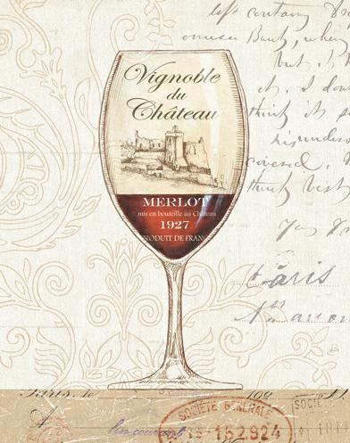 Wine by the Glass II von Daphne Brissonnet