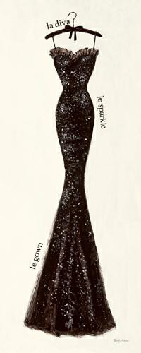 Couture Noire Original IV von Emily Adams