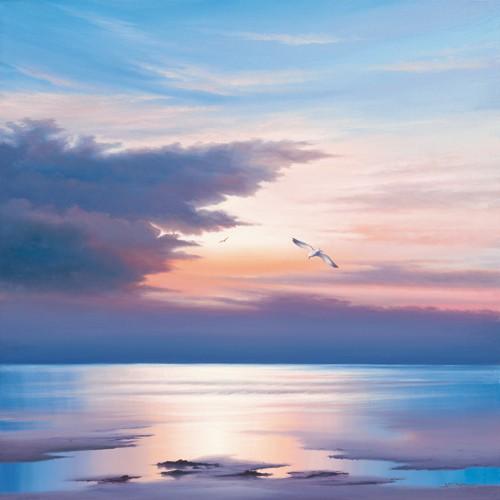 Sunset Flight von John F Sim