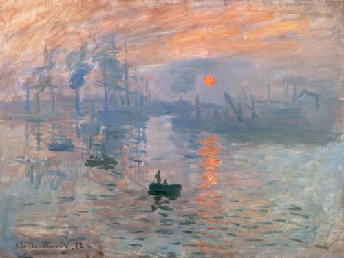 Impression (Sonnenaufgang) von Claude Monet