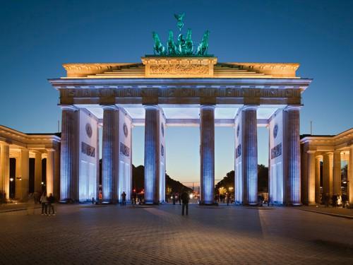 Brandenburger Tor I von Rolf Fischer