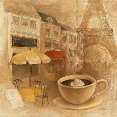 Cafe de Paris II von Albena Hristova