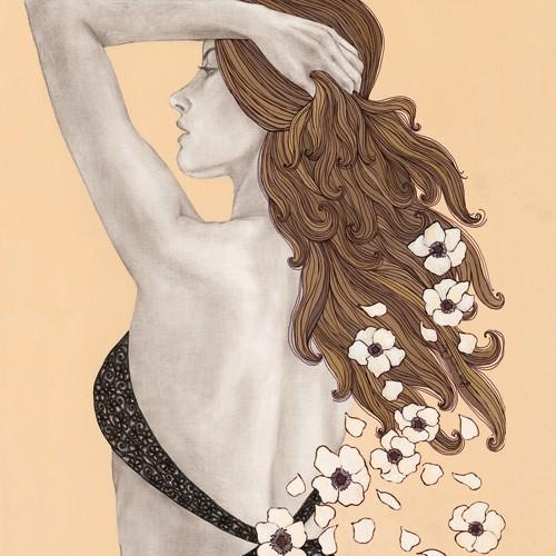 Message of Flowers von Olga Gouskova