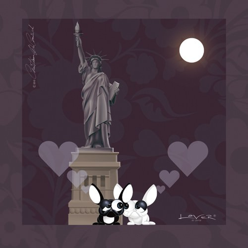 Lover by Lover - New York, With Love von Christiaan De Coninck