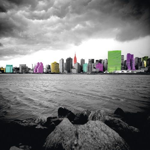 New York Beach von Anne Valverde