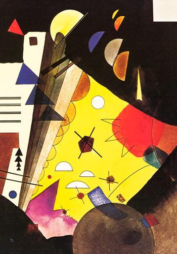 Tension en hauteur, 1924 von Wassily Kandinsky