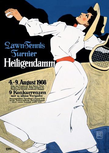 Lawn-Tennis Turnier von Hans Rudi Erdt