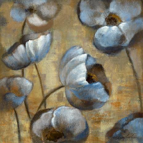 Flowers in Dusk I von Silvia Vassileva